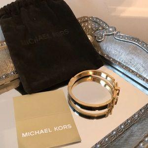 Michael Kors Adjustable Bangle Bracelet